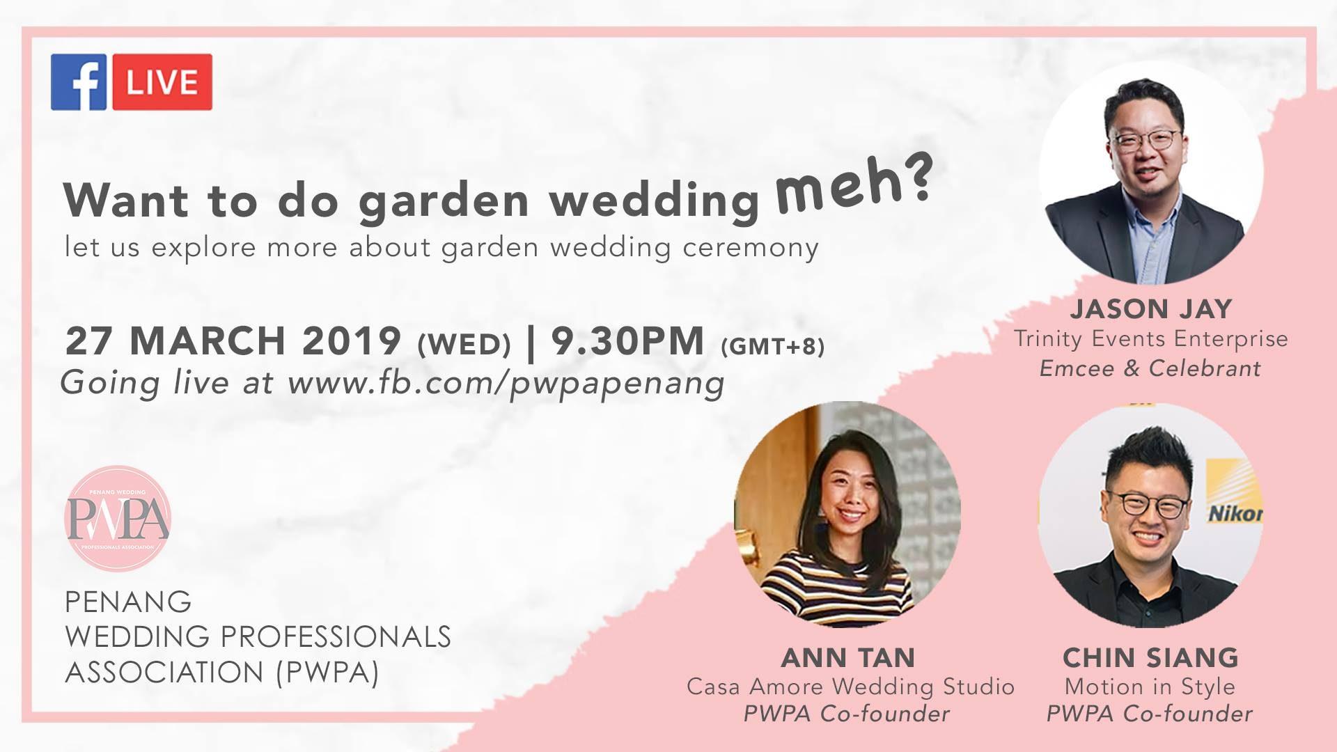 Want to do garden wedding meh?
