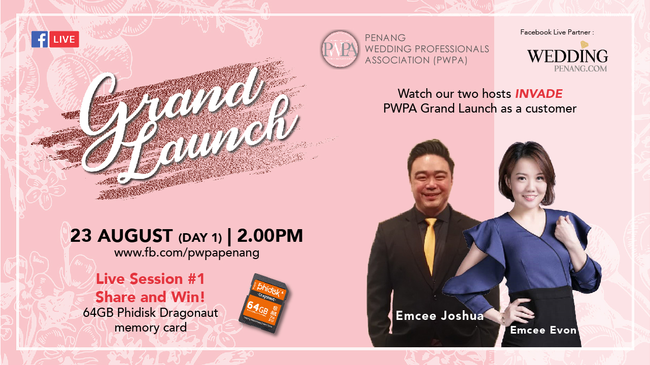 PWPA Grand Launching – FB Live #1