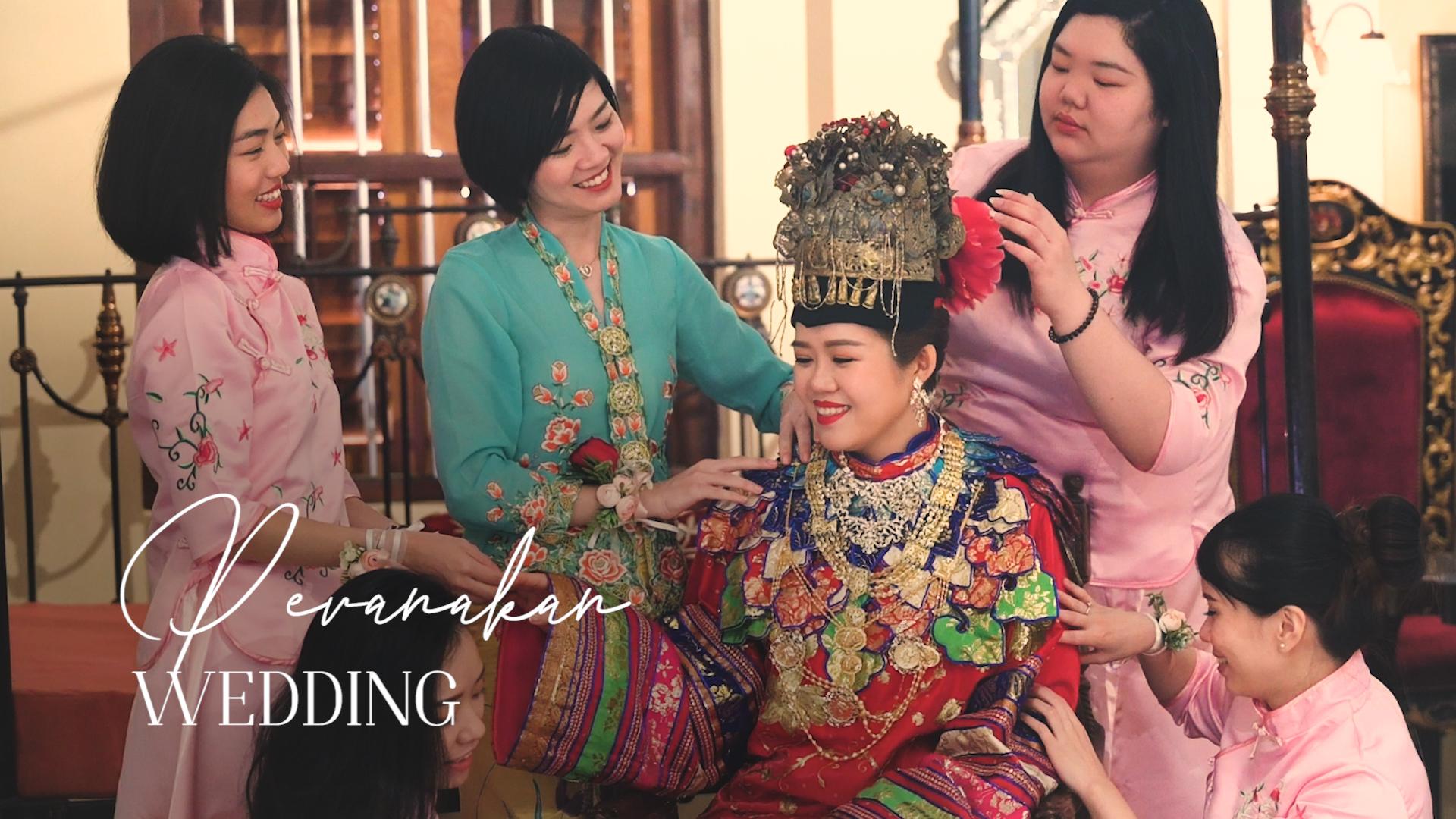 Peranakan Wedding in Penang, Malaysia