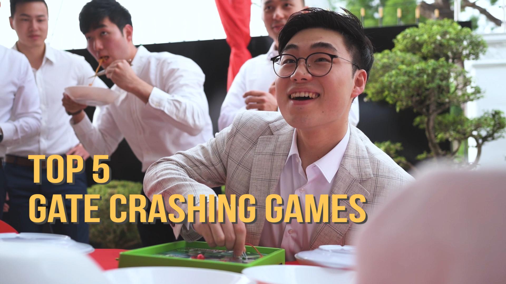 Top 5 Gate Crashing Games in Chinese Weddings